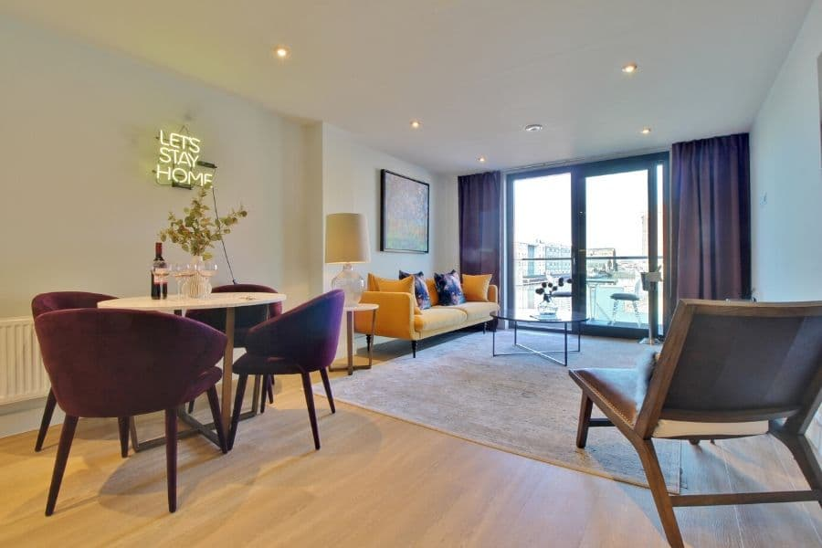 Rokeby Development - Provender Apartment Lounge Out