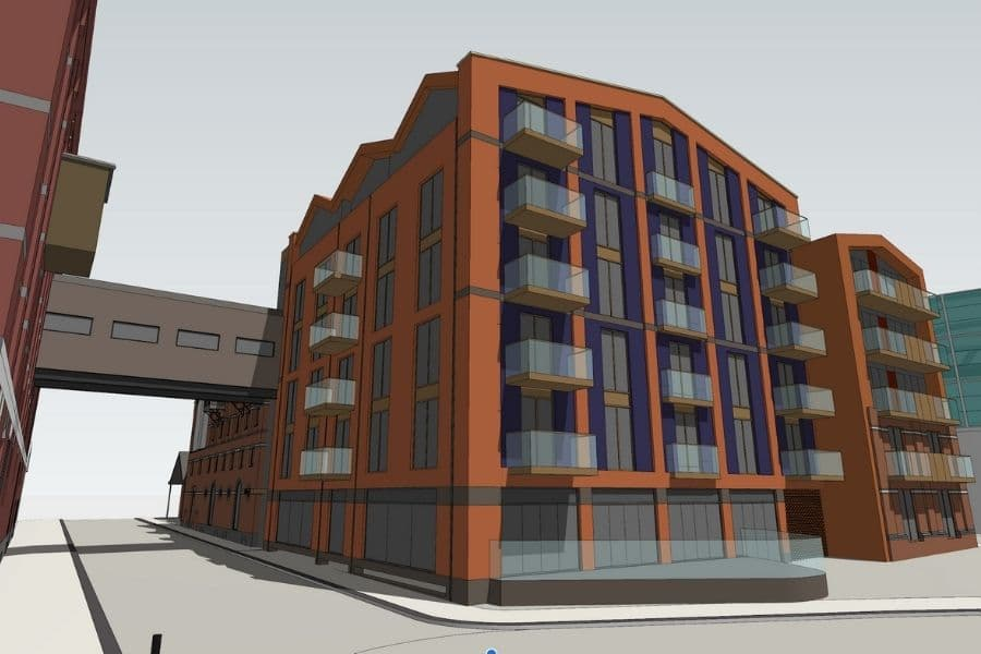 Rokeby Developments Downings Bakers Quay 3D Rendering