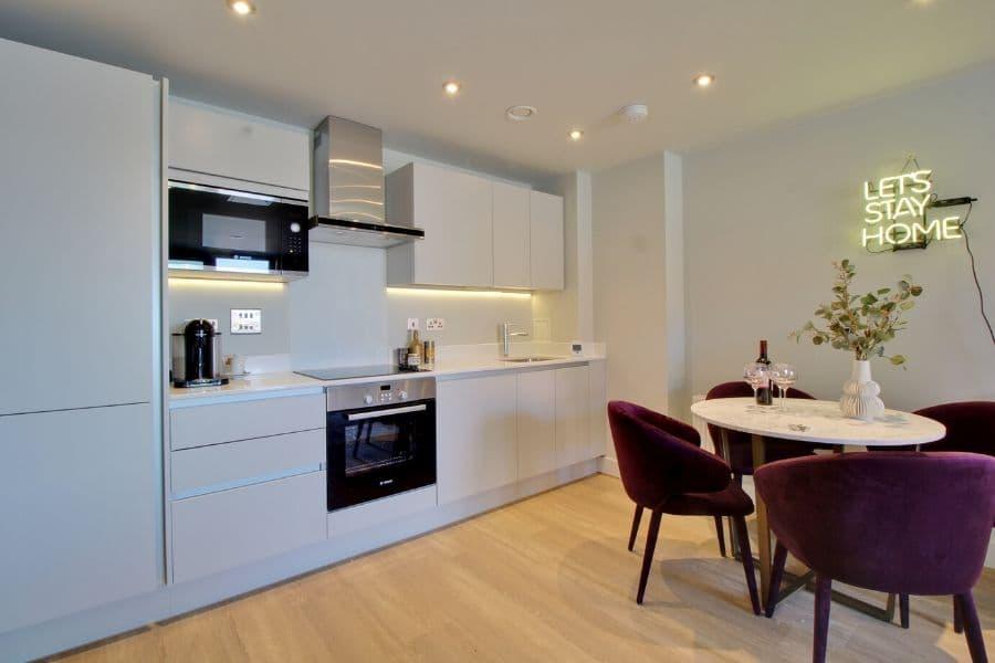 Rokeby Developments - Provender Apartment Kitchen
