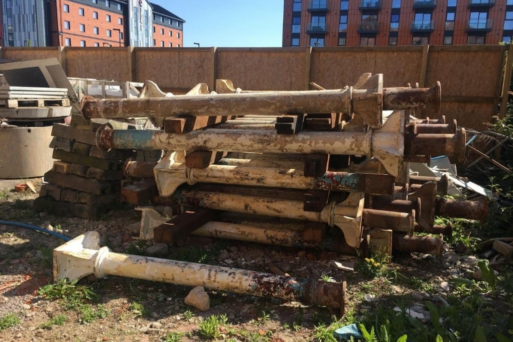 Bakers Quay Downings reclaimed materials to be used in new development