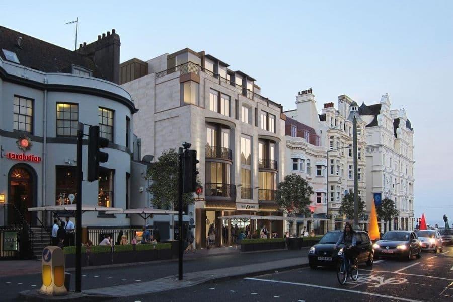 Rokeby Developments 78 West Street Brighton CGI