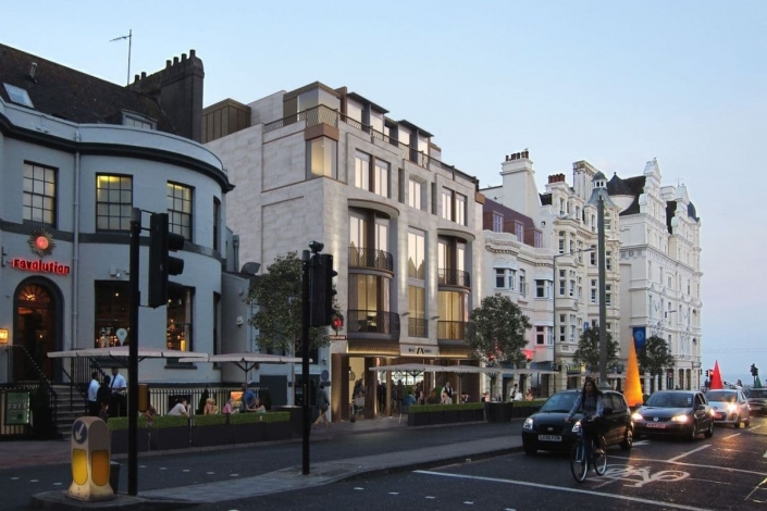 Rokeby Developments recommence work on 78 west street brighton